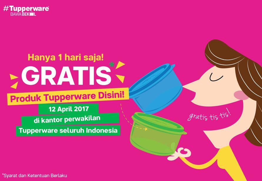 Tupperware Bagi Bagi Tupperware Gratis Di Tupperwarebawabekal 12 April 2017 Berita Berita Kegiatan