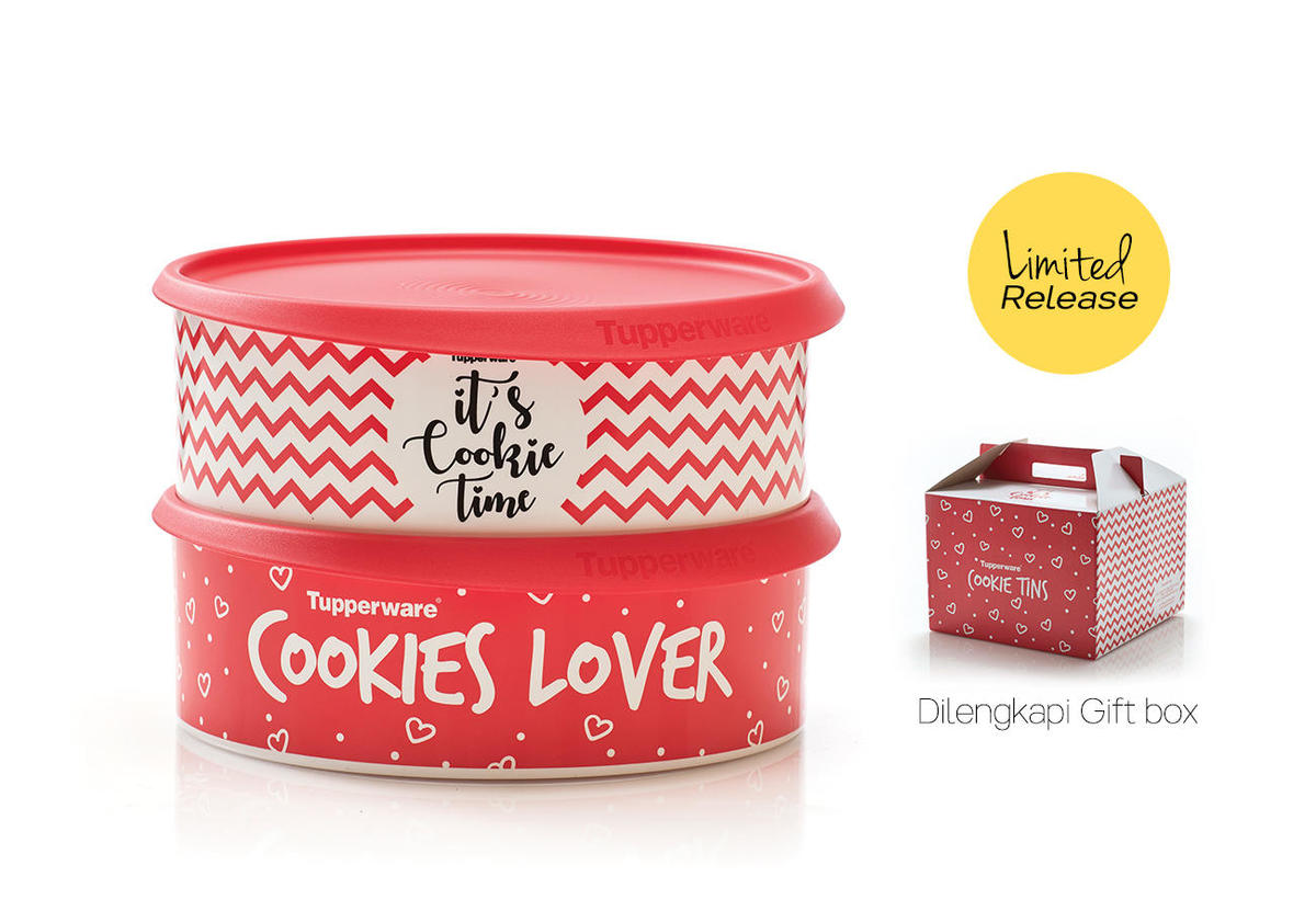 Cookie Tin, Promo Feb 2018
