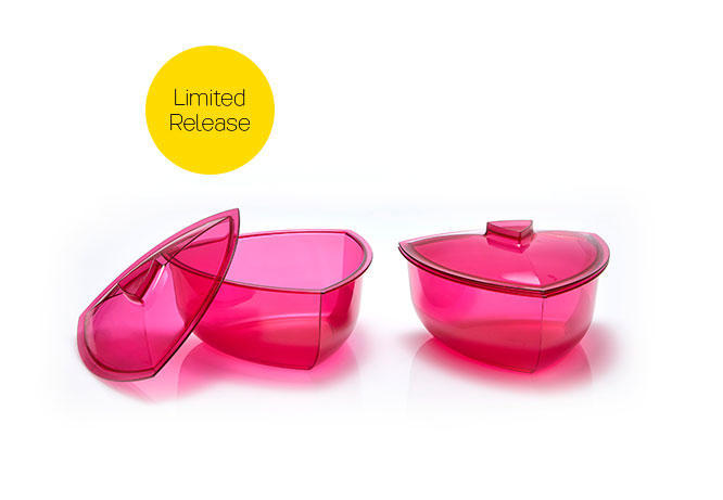 Lotus Triangle Bowl with Cover (1)
