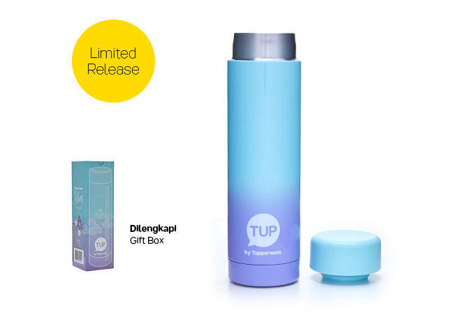 Slim Thermos (1) - Blue Purple