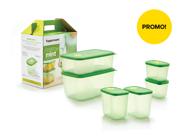 Tupperware Fresh Mint Collection ...