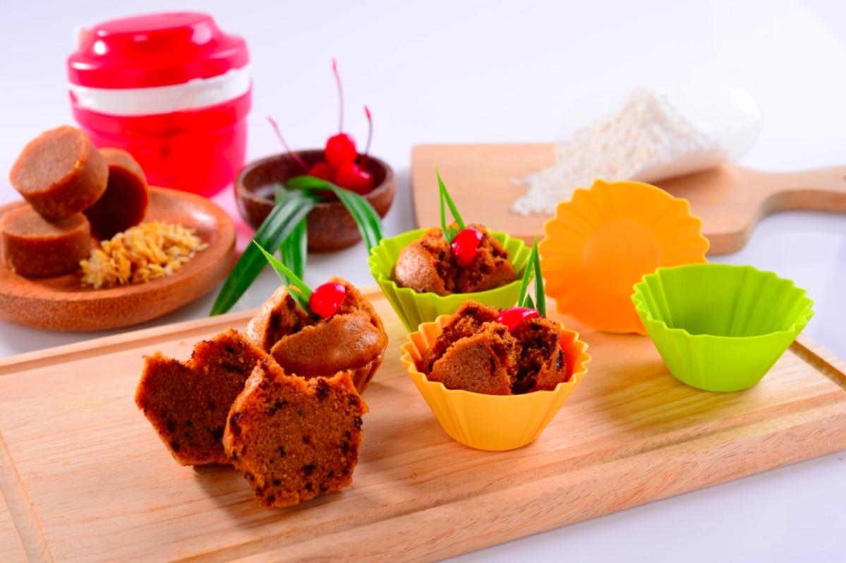 Resep Cake Kukus Gula Palem: Tupperware -Bolu Kukus Gula Merah