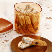 White Chocolate Almond Biscotti